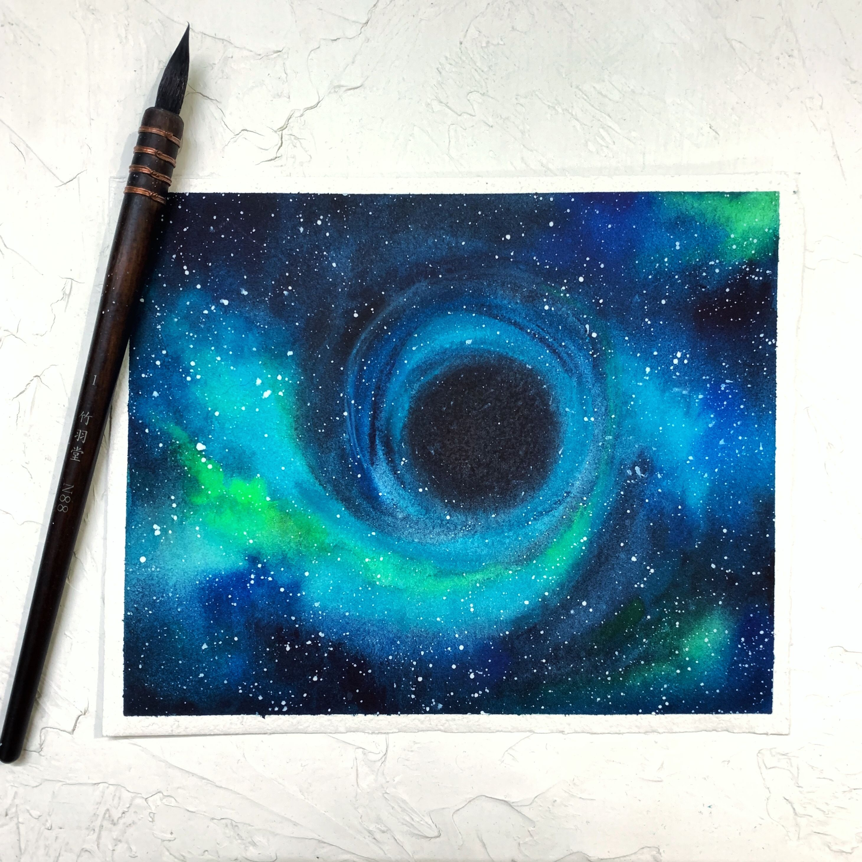 Watercolor Art Watercolor Painting Watercolor Art For Beginner Northern Lights Painting Acrylic Northern Lights Watercolor Watercolor Paintings For Beginners