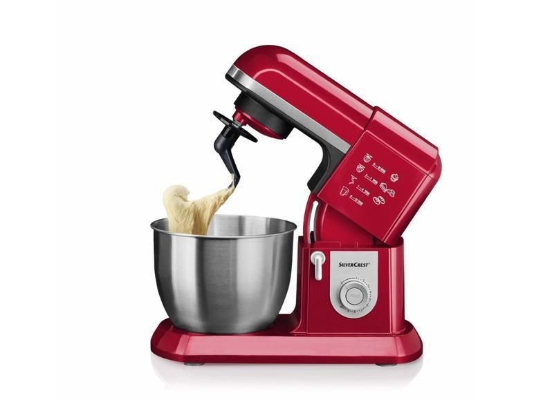Profi Kuchenmaschine Rot Silvercrest B Ware Englischer Stecker
