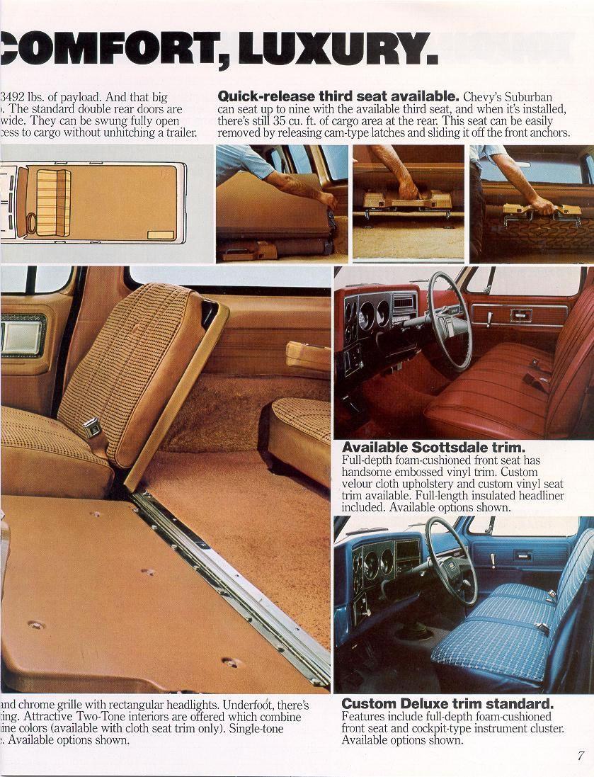 1980 Gmc Truck Click Image Below To Enlarge Chevrolet Suburban Chevrolet Pickup Chevrolet