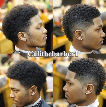 Singer Usher Haircut With Curls From The Twist Sponge Brush Hair