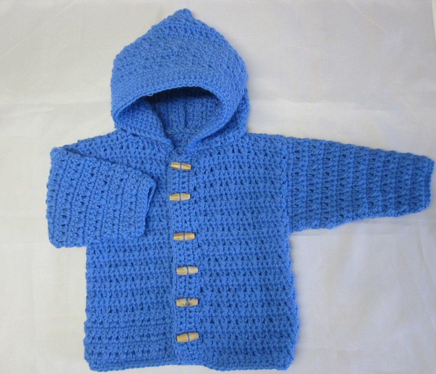 Crochet Baby Boy Sweater 5392 Wallpapers