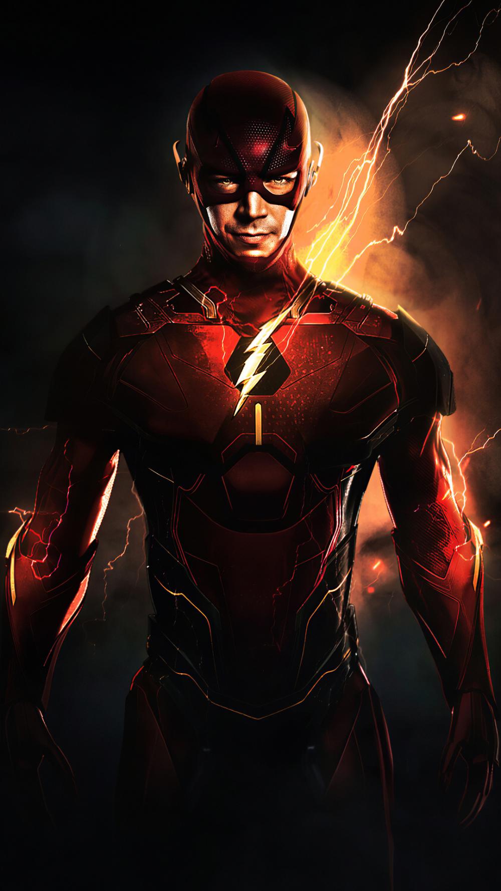 Flash Barry Allen 4k In 1080x1920 Resolution Reverse Flash The Flash Flash Wallpaper