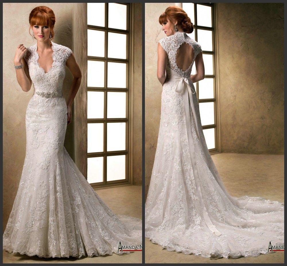 Designer Wedding Dress Patterns | 2013 Stunning Designer Fishtail ...