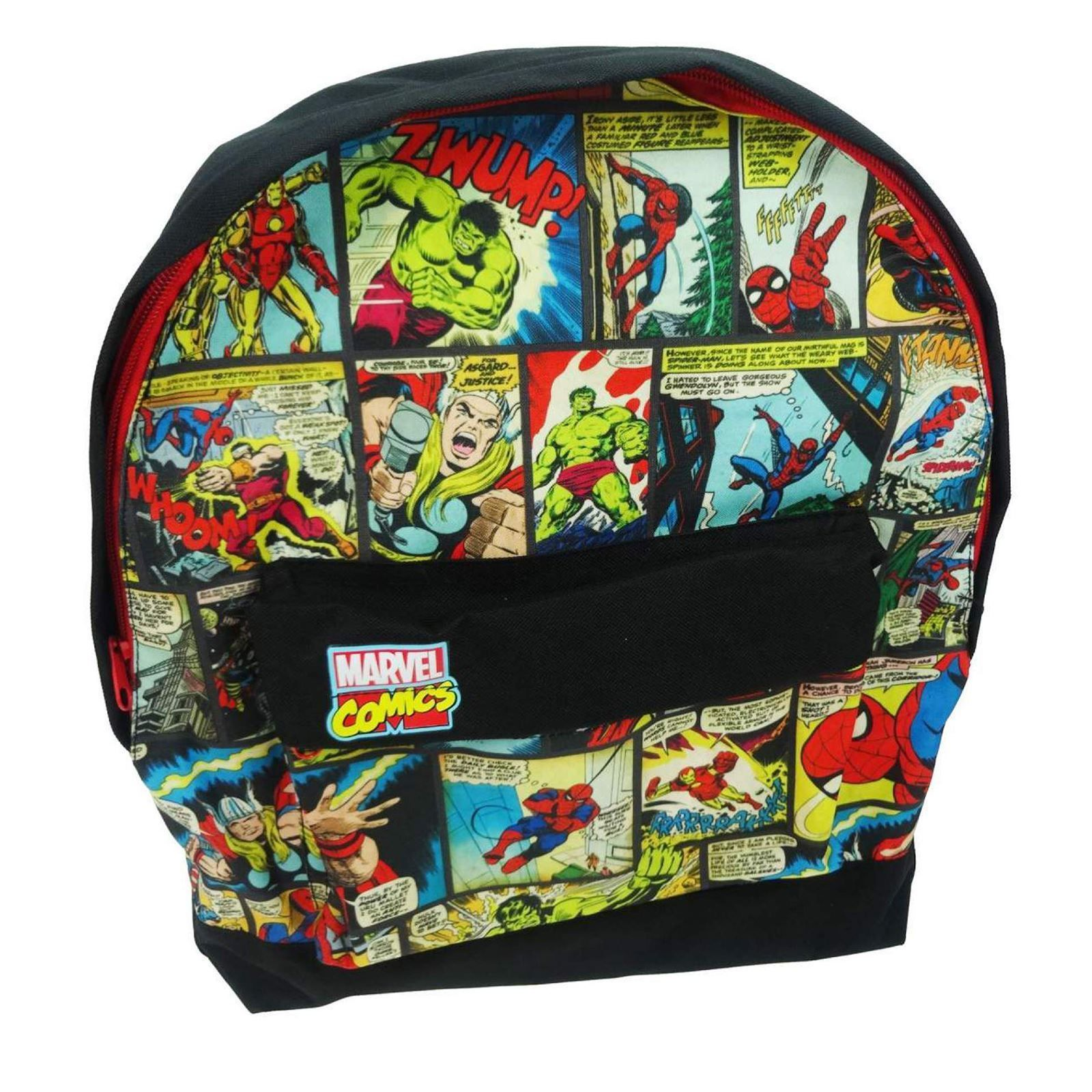 Marvel Roxy Backpack Bag Kids Boys  Iron Man Hulk