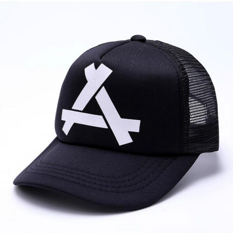 f85f03929ef Triangle Printed Breathable Mesh Baseball Cap in 2019 | Cute ...