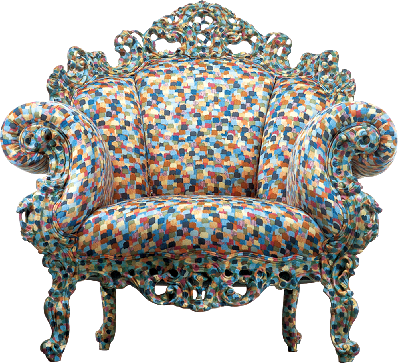 proust alessandro mendini cappellini armchair furniture patterned chair