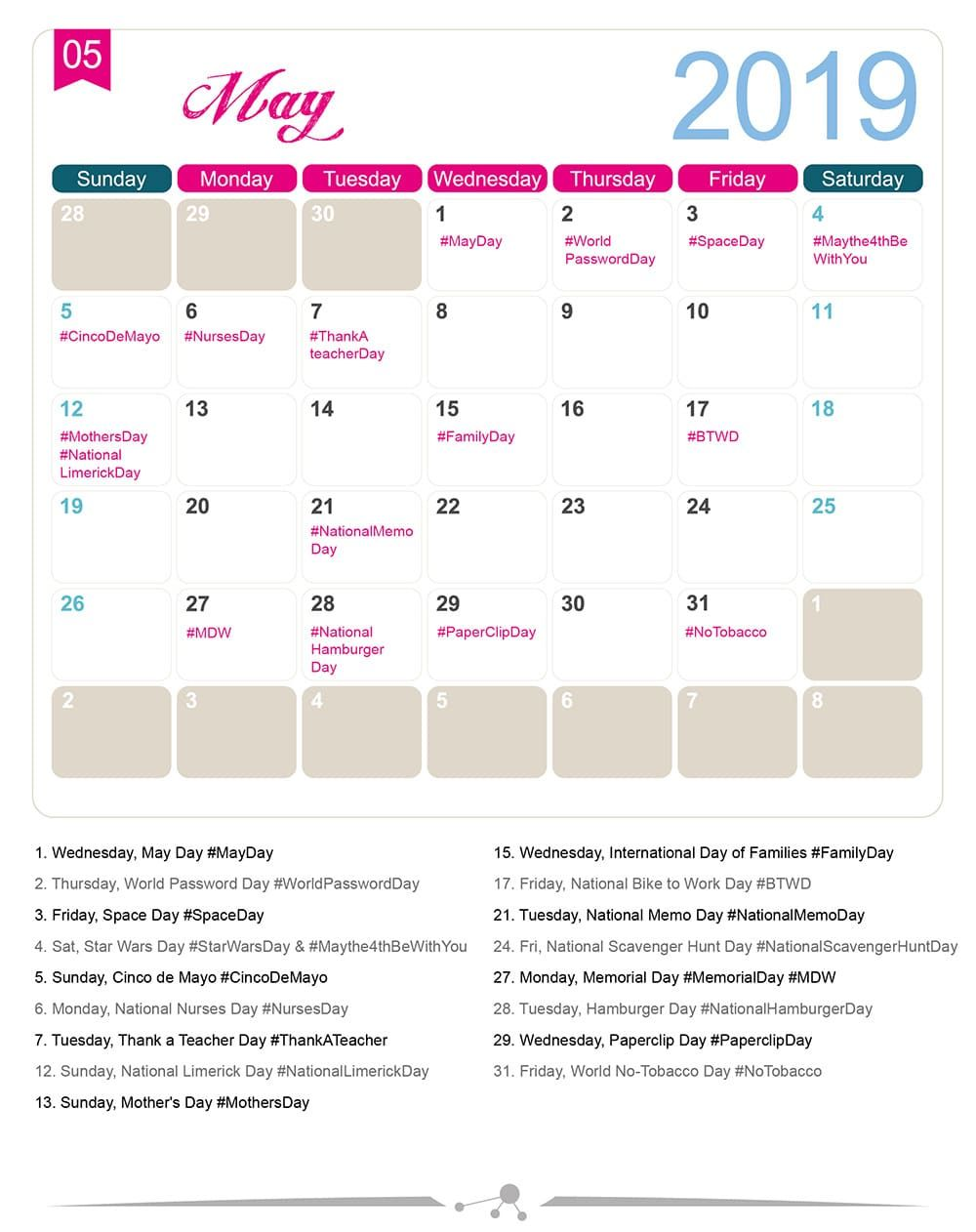 The 2020 Social Media Holiday Calendar (With images