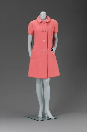 Woman's coat dress from 1967. The Met.