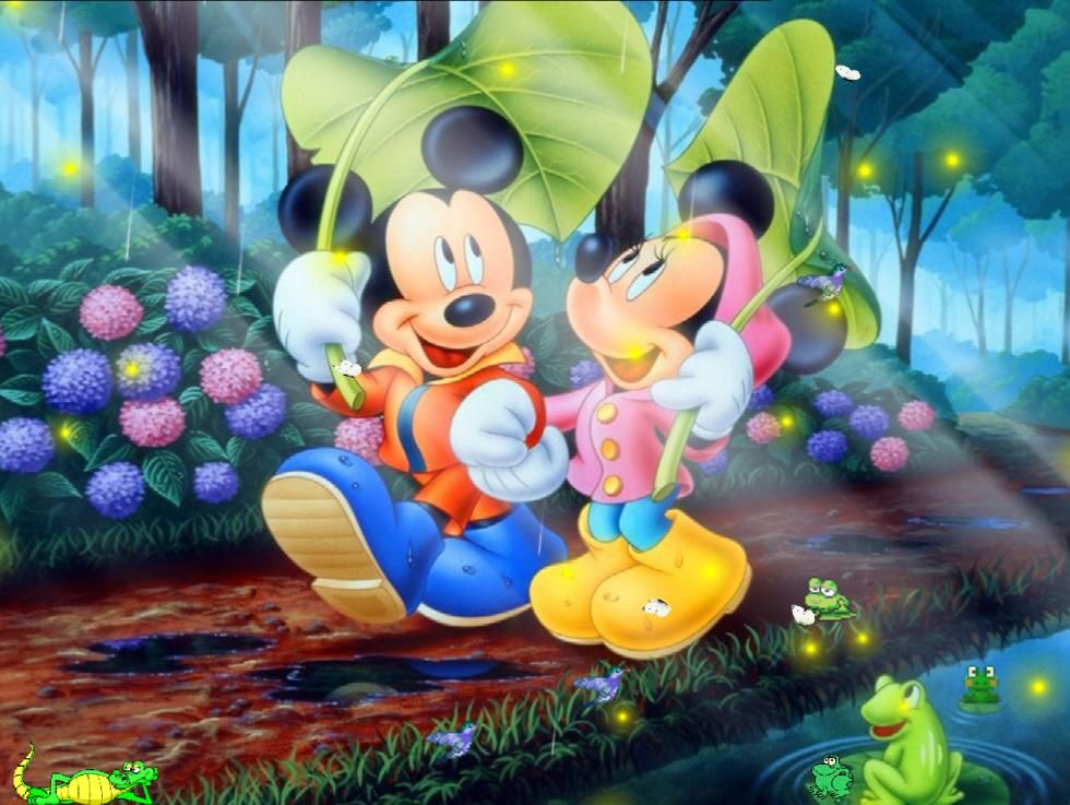 Free Animated Desktop Themes Disney Animated Wallpaper At