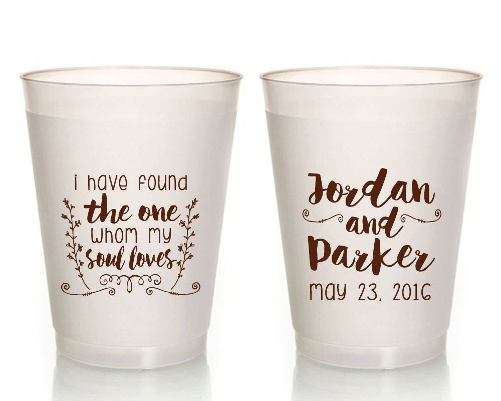 Wedding Cups, Spiritual Wedding Favors, Gifts and Mementos, Soul ...