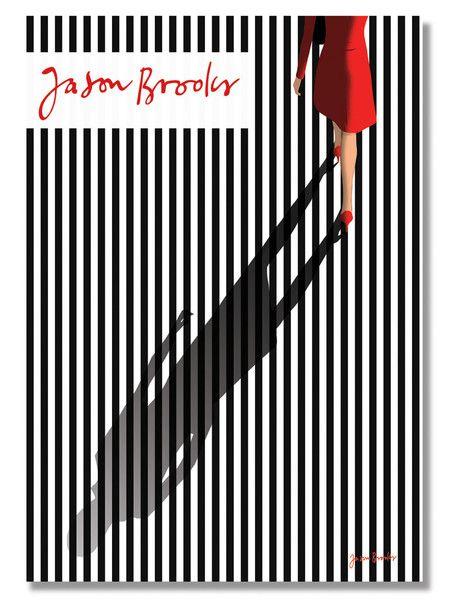 Jason Brooks Store — Figure Walking on Stripes