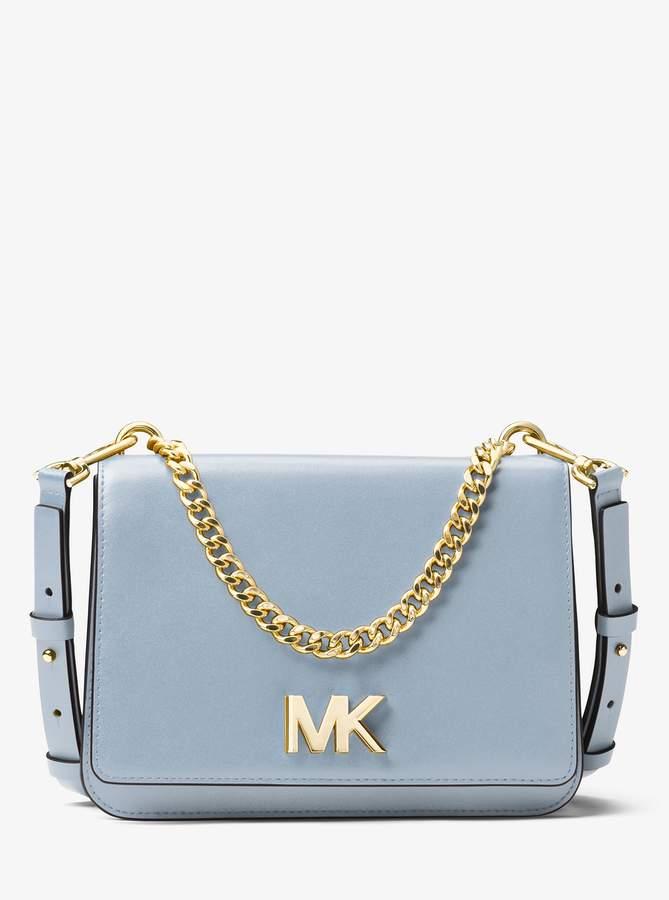 Michael Michael Kors Mott Leather Crossbody Leather Crossbody Michael Kors Crossbody Bag Crossbody Bag