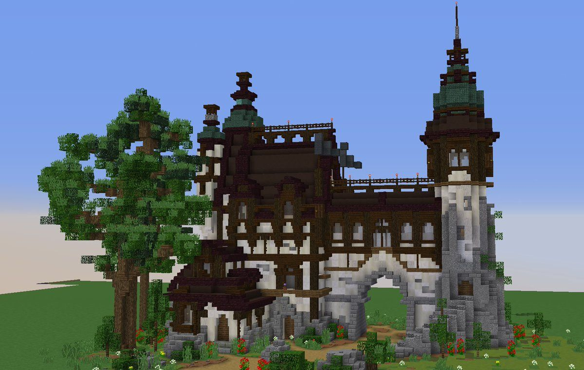 Pin by Ale on Minecraft  Minecraft houses, Minecraft castle