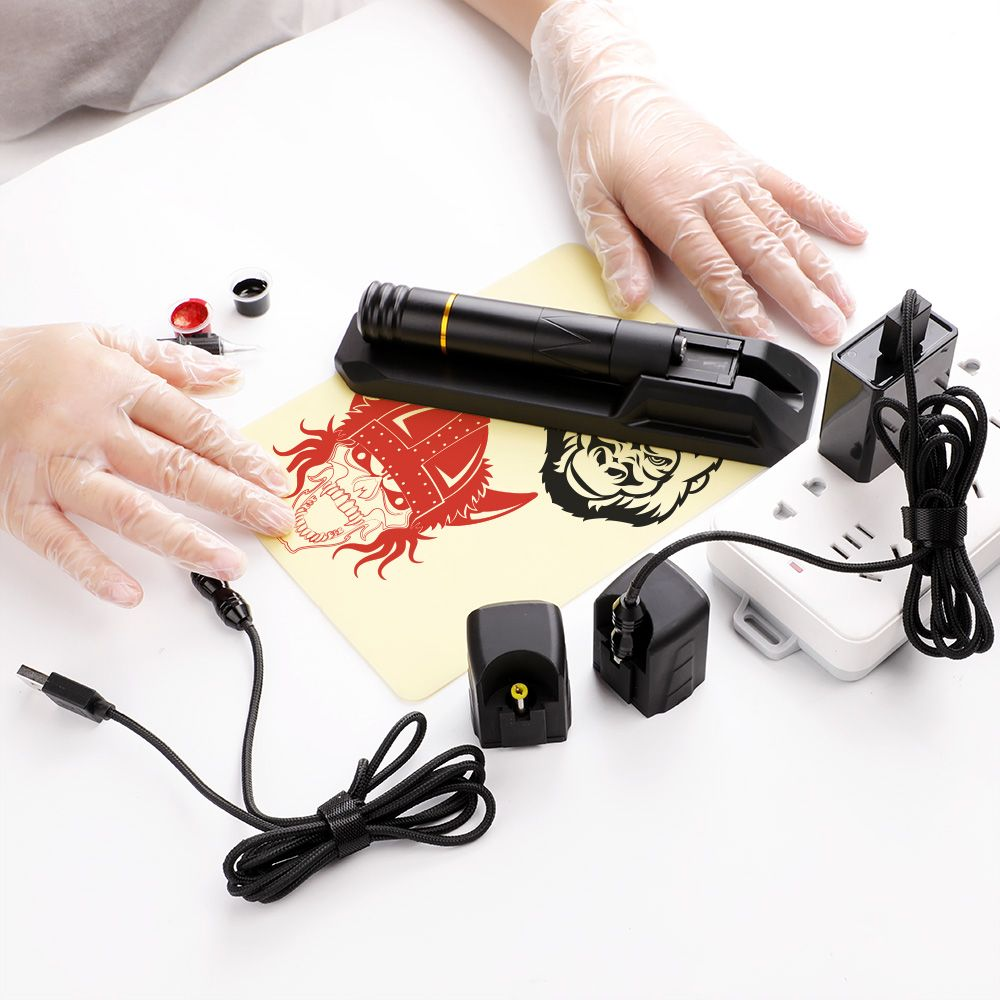 Wireless tattoo pen from luckybuybox tattoo supply for