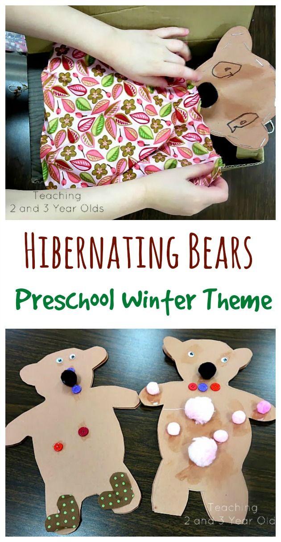 Preschool Winter Theme Sleep Well, Bears Bears