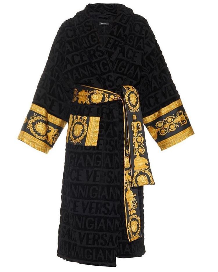 1b7f8efcd8 Versace bath robe dressing gown