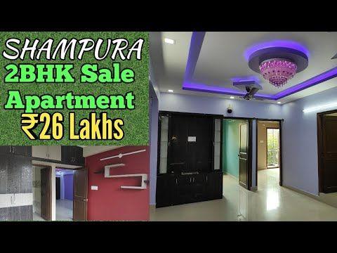 lakhs for bhk semi furnished flat in shampura rt nagar extension bangalore youtube also rh pinterest