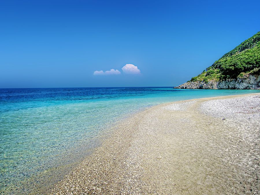 Greece Beach Wallpaper: Greek Beach - FOR SALE By =kuma-x On
