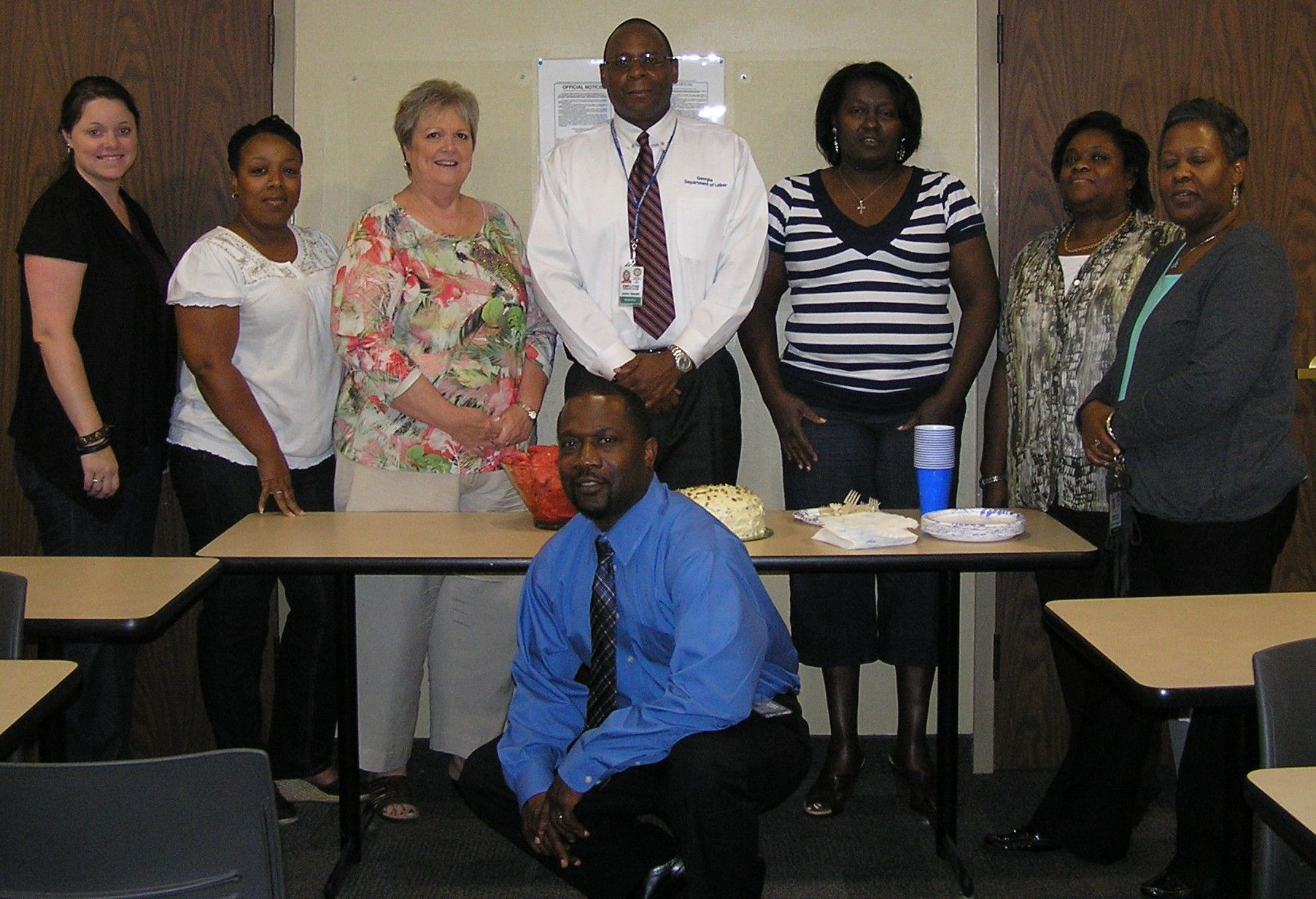 Augusta cdf learning team graduates with images