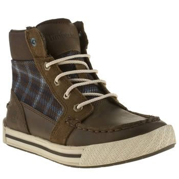 Boy's Brown & White Timberland Pannaway at schuh