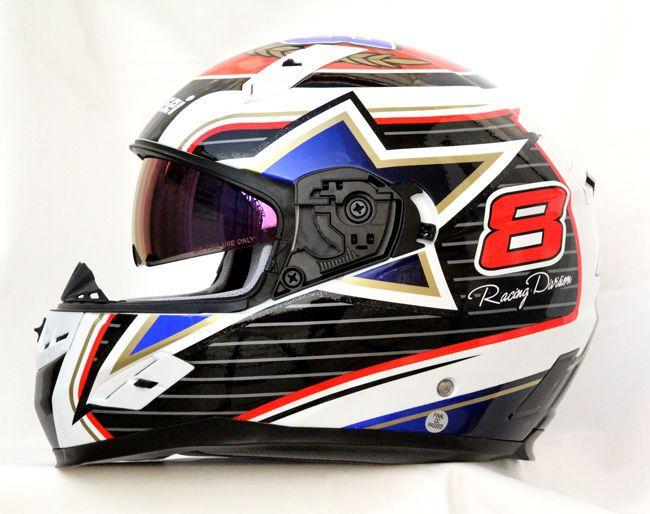 Masei 856 Dot Motorcycle Helmet Uk Style Size M L Xxl Dot Motorcycle Helmets Motorcycle Helmets Helmet