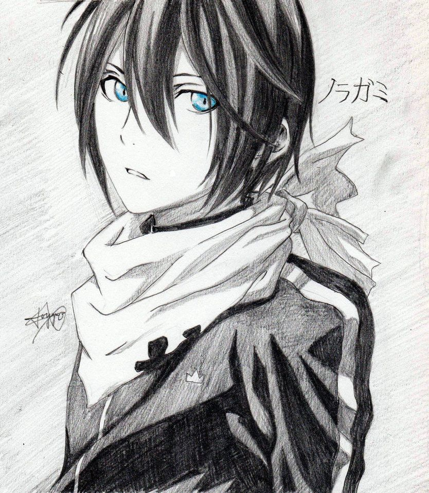 Yato Noragami by Piscessayonara on DeviantArt Anime