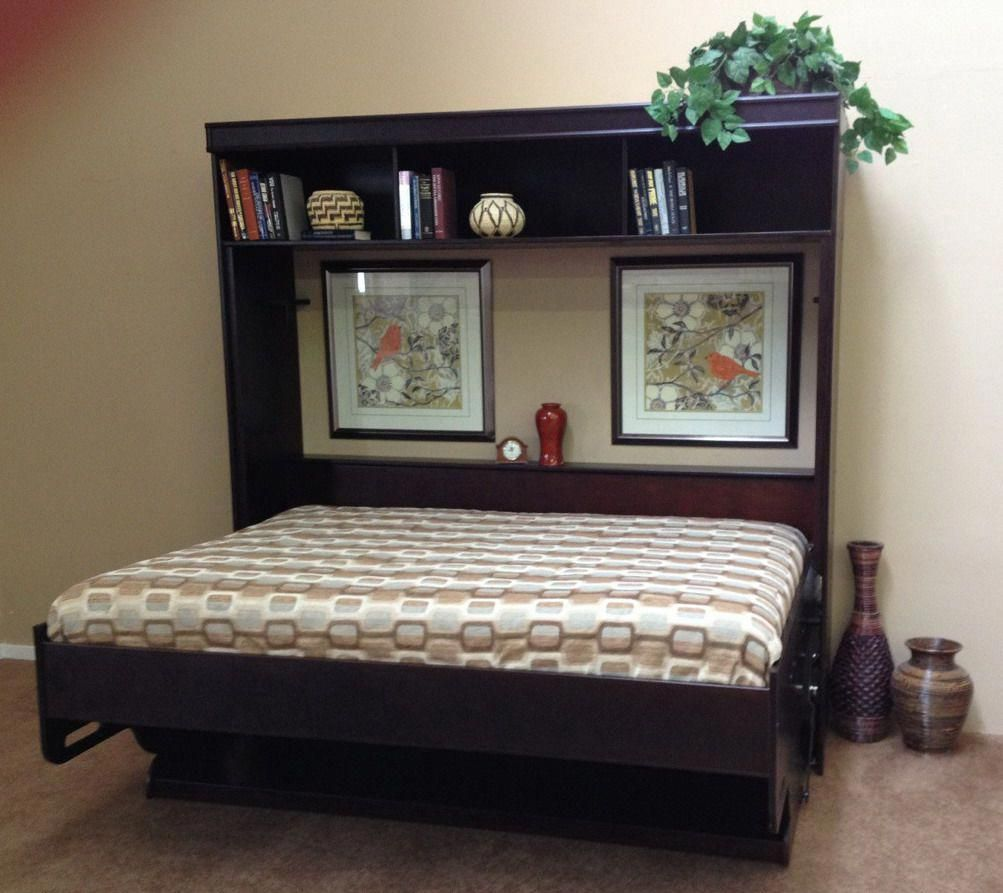 Deluxe desk wallbed a twoinone solution for your home office