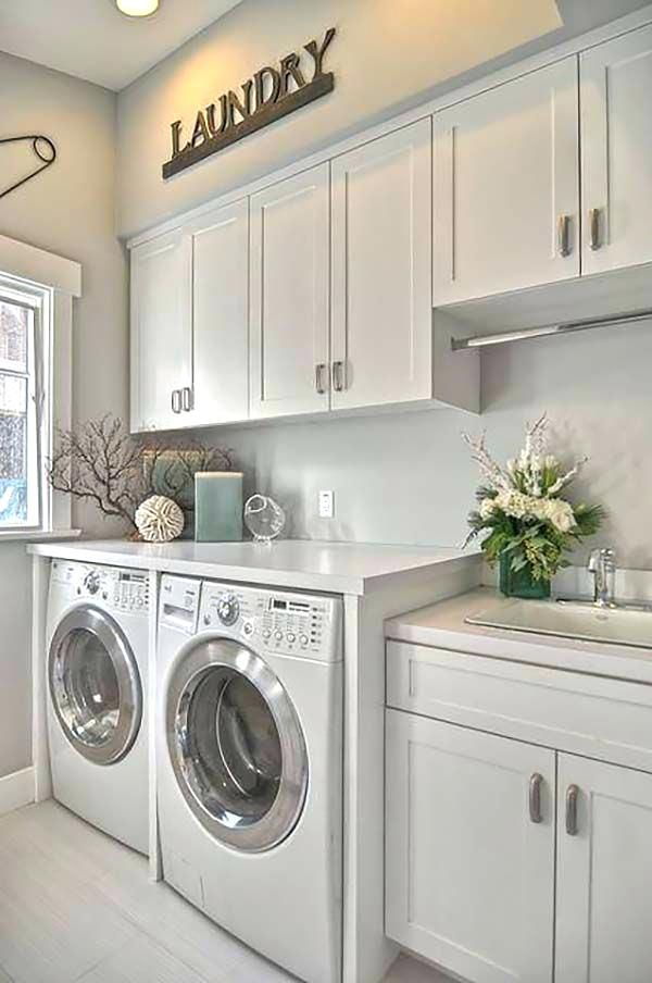 Incredibly Basement Laundry Room Inspiration Ideas