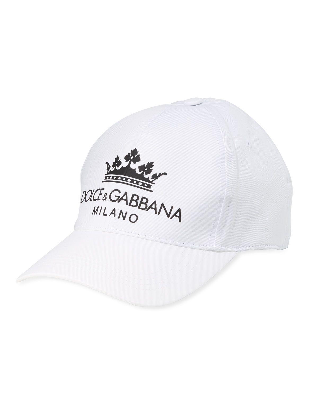 b4c983236 DOLCE & GABBANA MEN'S CORONA MILANO BASEBALL CAP. #dolcegabbana ...
