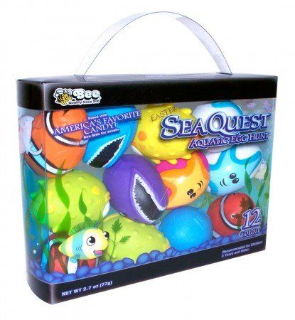 Sea Quest Aquatic Easter Eggs Filled with Candy 12ct. $19.99