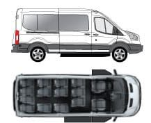 New Passenger Vans With Upfit For Hotels With Images Vans