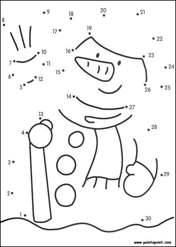 Fichas de actividades matemáticas para unir puntos y formar o ...