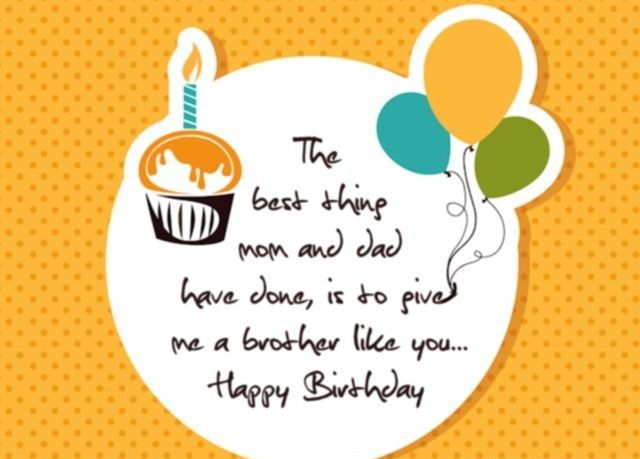 Happy Birthday Wishes For Brother Birthday Wishes Images And New Brother Birthday Quotes