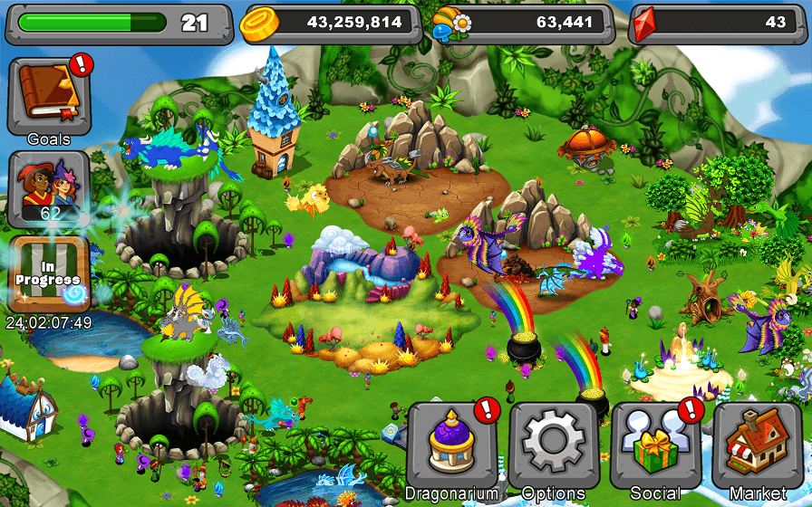Video Game Discovery 15 DragonVale (Android, iOS Free