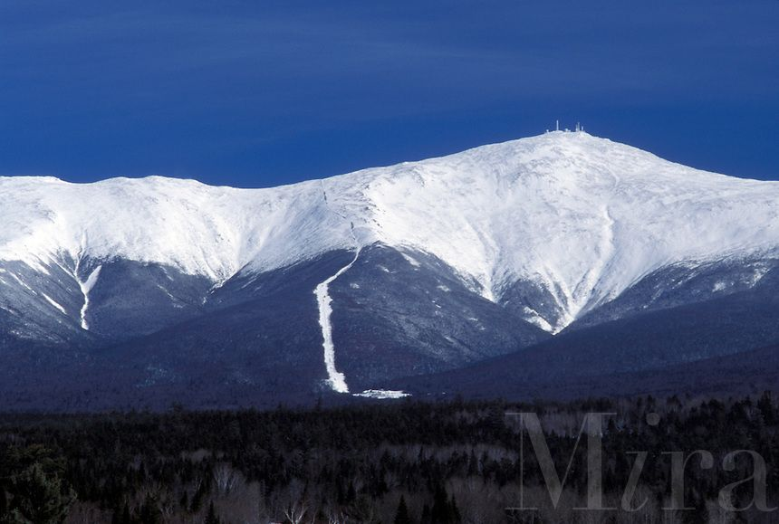 Mount Washington Bretton Woods Nh New Hampshire Scenic View Of