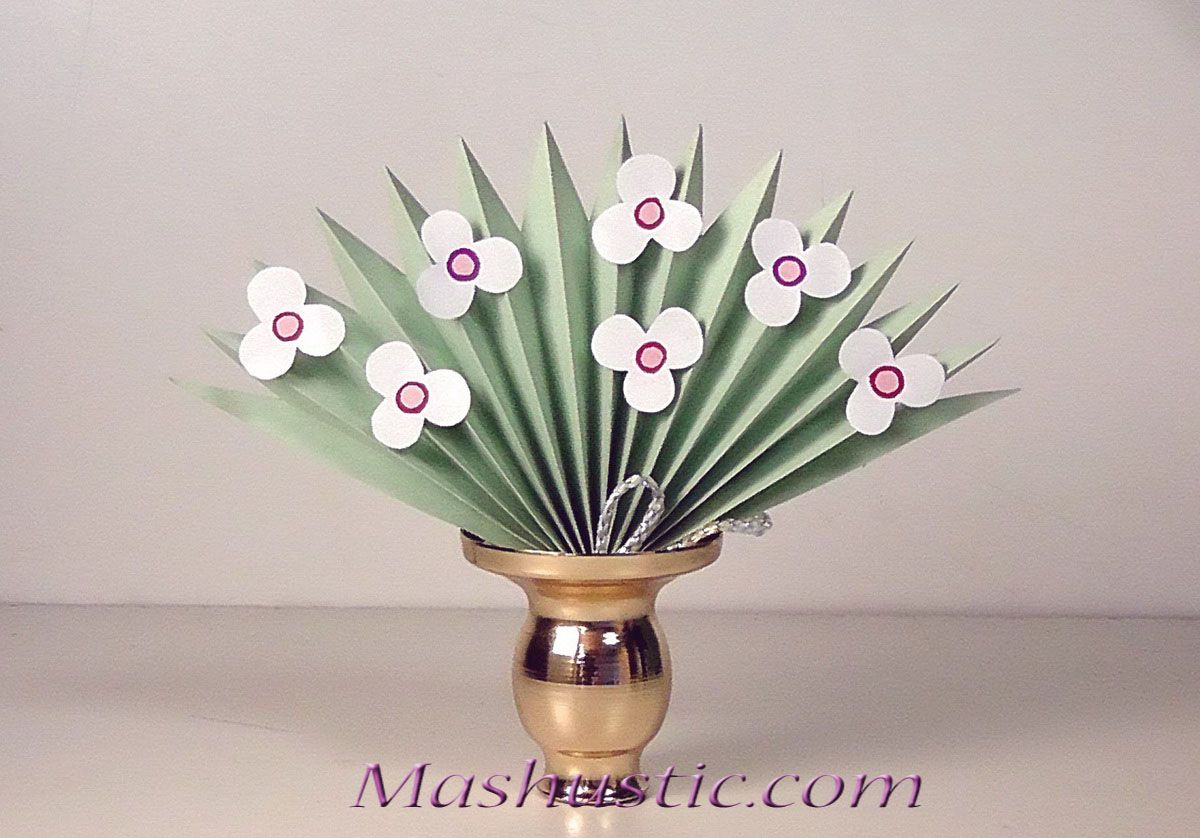3d paper flower bouquet for kids mashustic paper flowers and 3d paper flower bouquet for kids mashustic mightylinksfo Image collections
