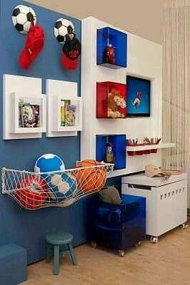 Ideas para cuarto de niños | labial | Kids bedroom, Boys room design ...