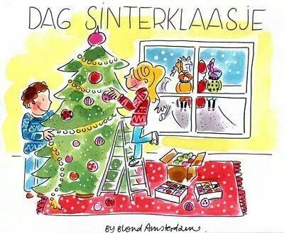 Dag Sinterklaas en zwarte Piet 2014