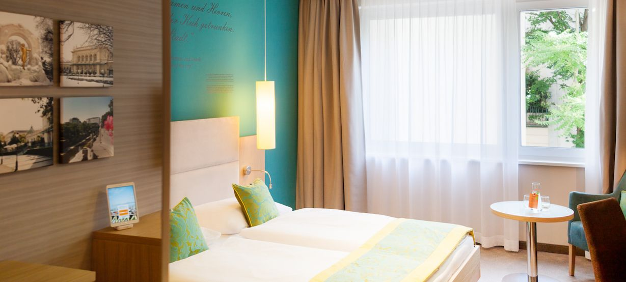 Book your conscious city trip and stay at Das Capri Ihr Wiener Hotel