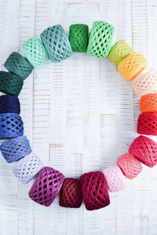 Wolle färben mit Simplicol | Pinterest
