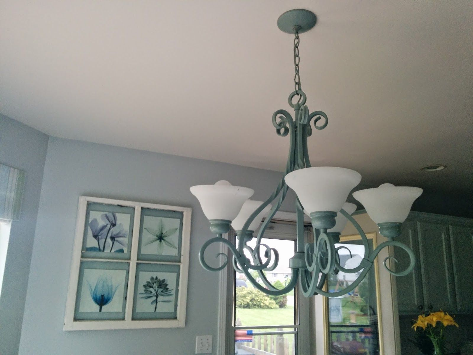 Our house now a home beautiful chandelier redo to see more click our house now a home beautiful chandelier redo to see more click on aloadofball Image collections