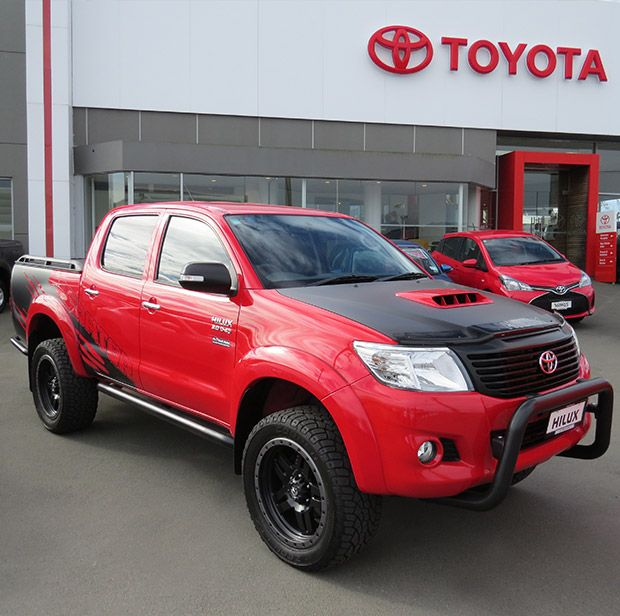 Toyota Tacoma Limited: The Limited Edition Toyota Hilux SR5 Predator Is A Beast