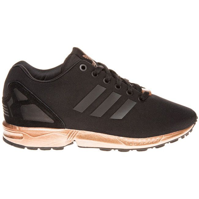 rose gold adidas trainers flux