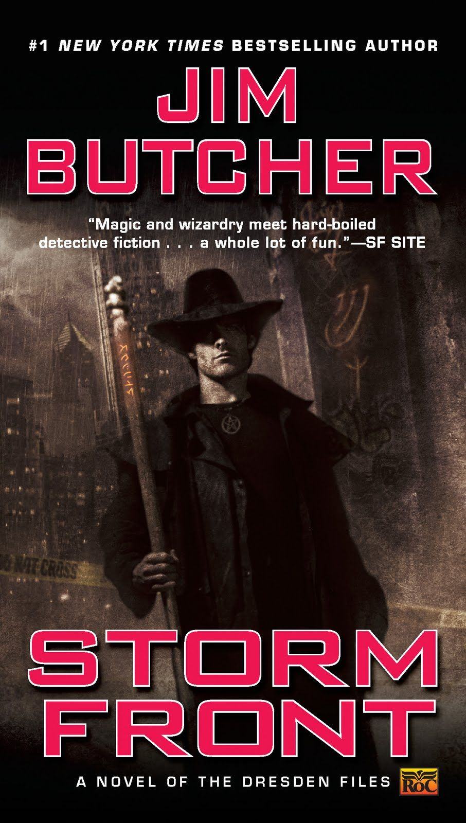 The first book in one of my favorite series of novels.  
