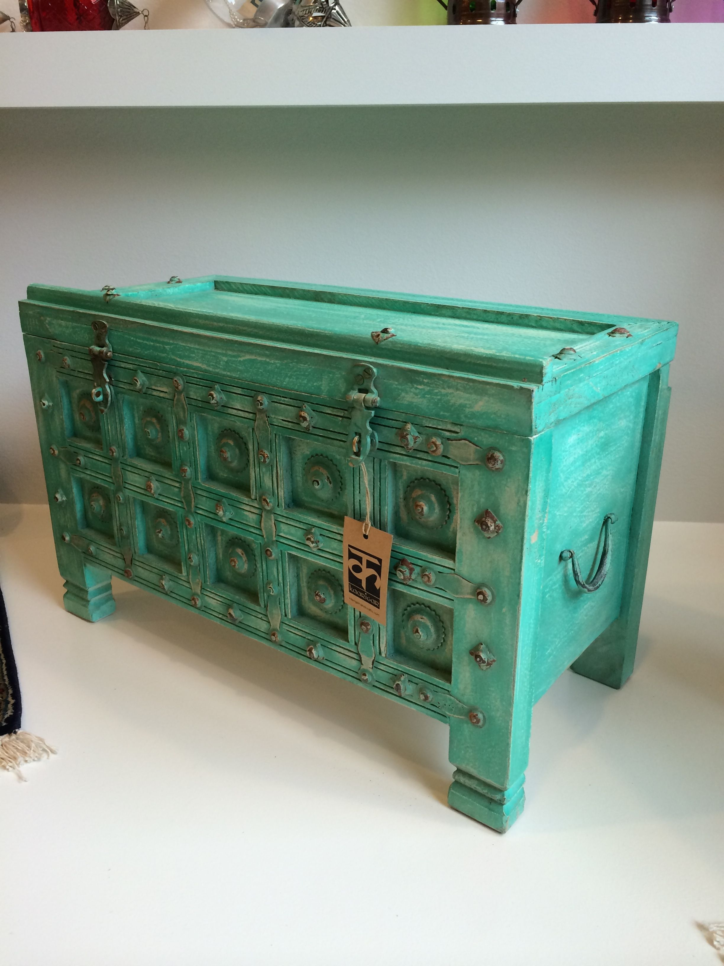 Hausfrontdesign in rajasthan ornate wooden chest from rajasthan india  modern  pinterest
