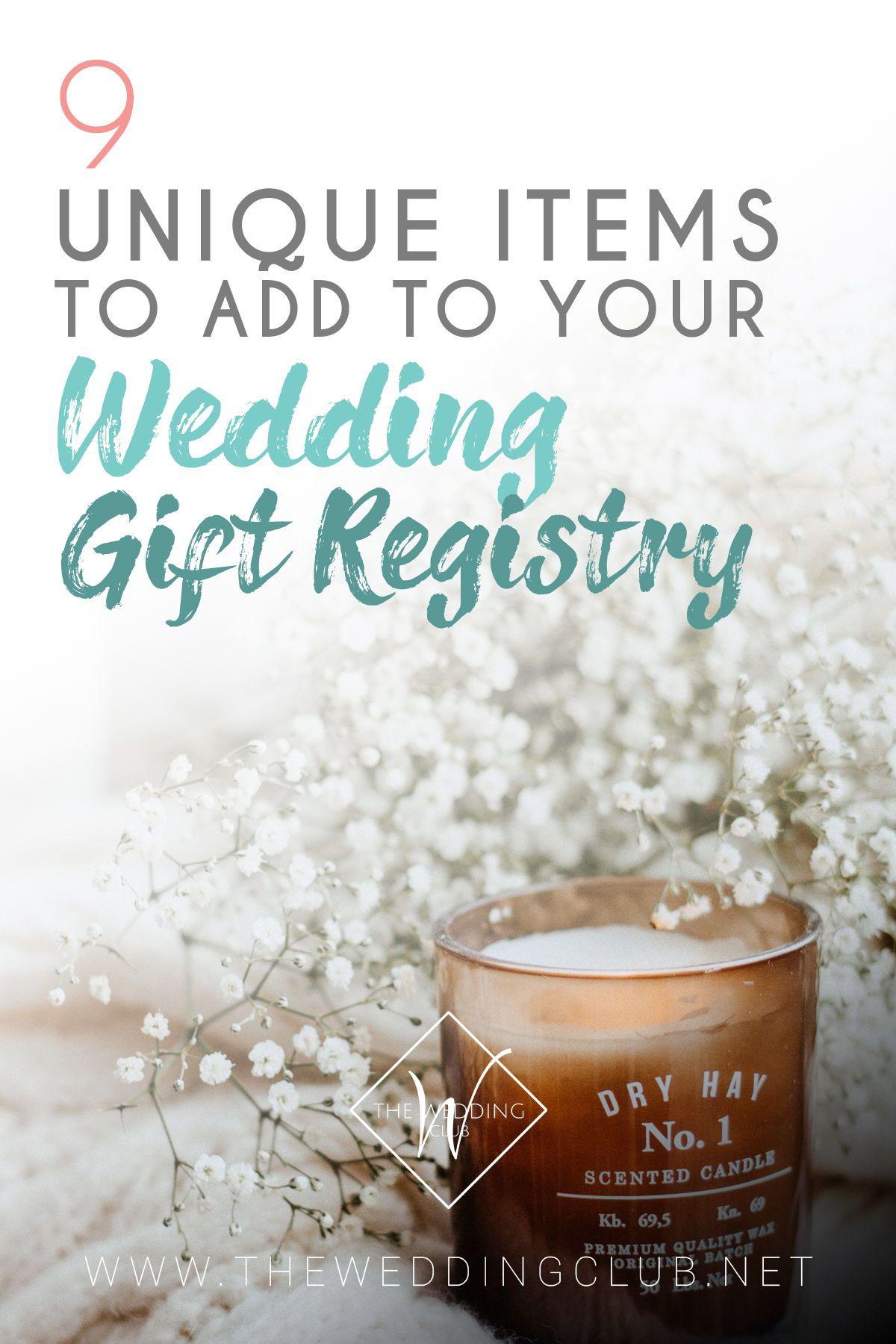 etsy wedding registry ideas