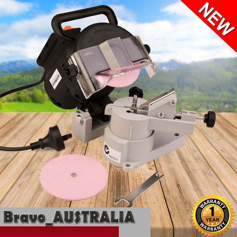 Chainsaw Sharpener 320w Bench Mount Chain Saw Electric