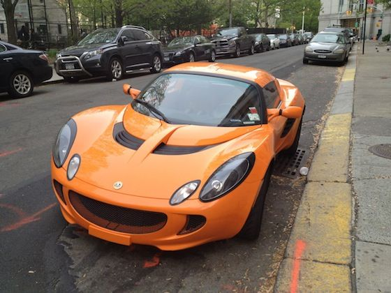 cars in real life lotus elise in nyc
