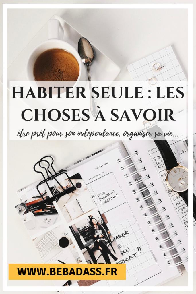 Habiter Seule Les Choses A Savoir Saviez Vous Que Organisation De La Vie Les Choses