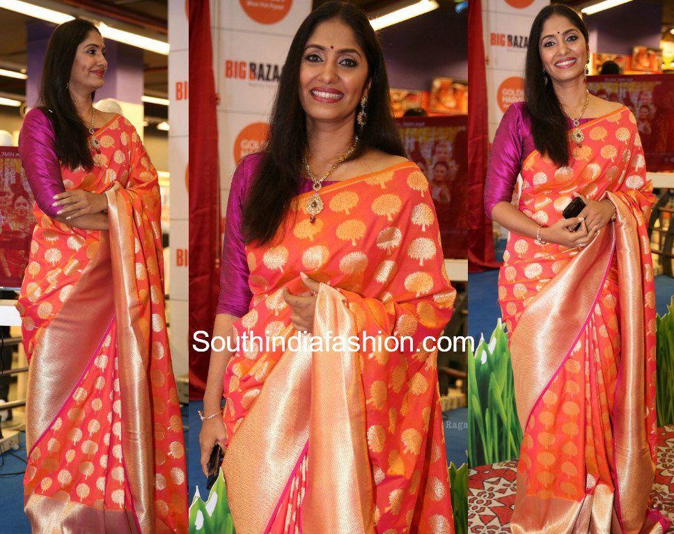8407e5ea5240d anchor jhansi banarasi silk saree photo Banarasi Sarees